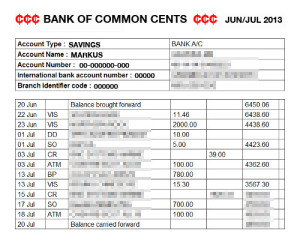 Check your bank statements check your bank statements altavistaventures Image collections